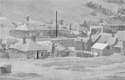 Burra's Commercial Street bridge can be seen in the centre of this 1872 photograph