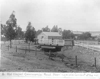 Burra's Commercial Street bridge had been replaced by the 1880s by the structure shown in this photograph