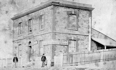 A new Telegraph Station and Post Office was erected in 1861.