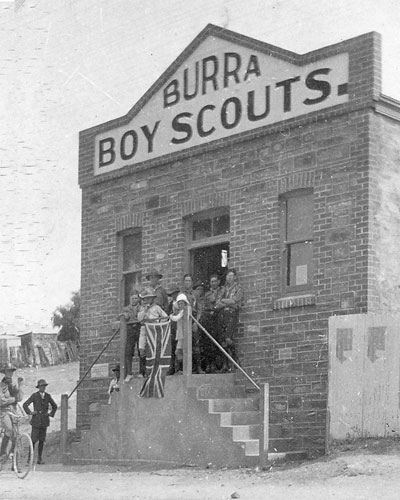 The Burra Boy Scouts were reformed in 1929